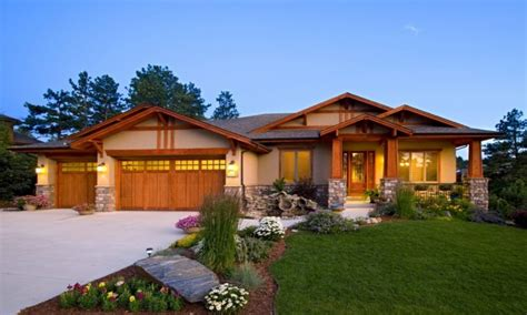 Ranch Style Home Exteriors Craftsman Ranch Home Exterior