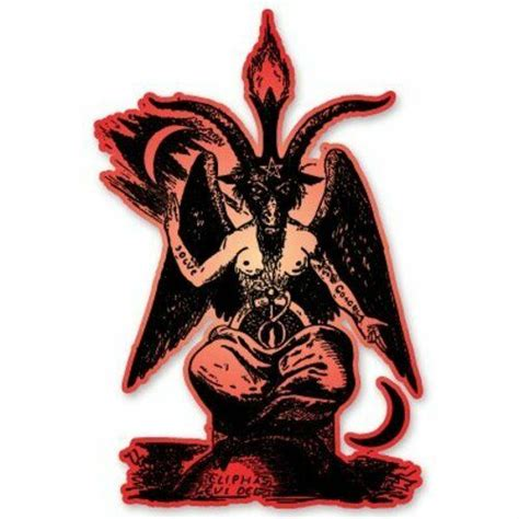 baphomet lucifer devil car vinyl sticker select size ebay