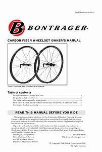Wheelset Manuals