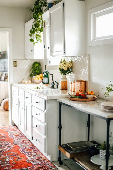 My Rental Kitchen Finished Makeover, Tips And Ideas