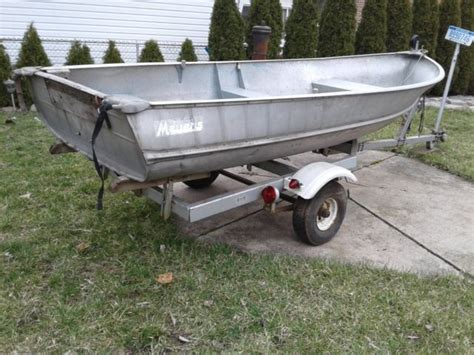 Aluminum Fishing Boat And Trailer by Aluminum Fishing Boats And Trailer For Sale In Melvindale