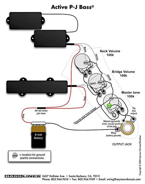 emg active bass pickup wiring diagram wiring library