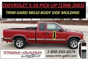 1998 1999 2000 2001 2002 2003 Chevrolet S10 Pick