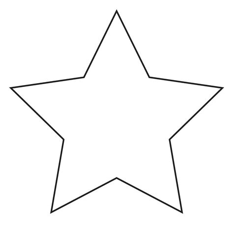 images  large star stencil printable large star