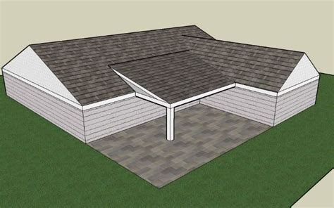 type  porch roof   build   shaped house