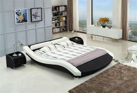 futuristic platform bed