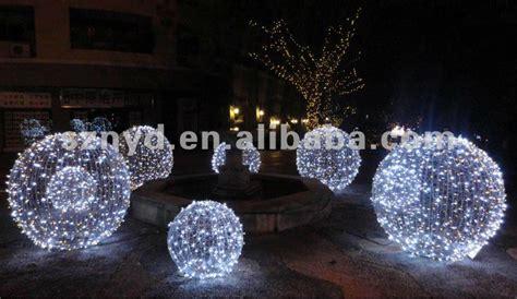 christmas ball large scale christmas lighting buy