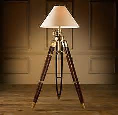 design trade magazine triple threat With royal marine tripod floor lamp antique brass