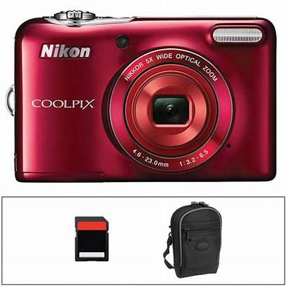 Nikon Coolpix L30 Camera Digital Basic Kit