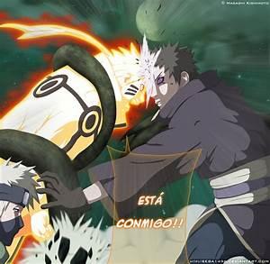 Naruto y Kakashi vs Obito MANGA 609 by seba1496 on DeviantArt
