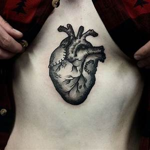 Anatomical heart, Anatomical heart tattoos and Heart ...
