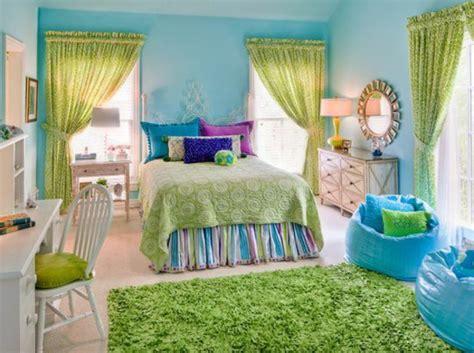 Tuerkise Vorhaenge Frische Farbe Im Raumturquoise Bedroom Decorating Ideas 7 by Jugendzimmer M 228 Dchen Einrichtungsideen F 252 R Wachsende M 228 Dels