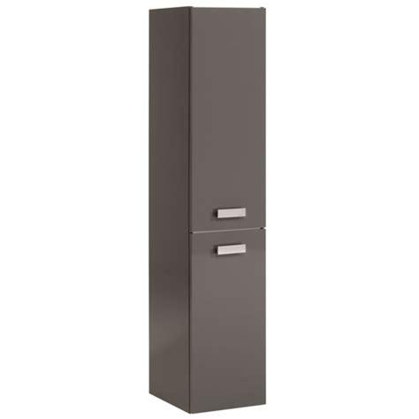 meuble cuisine pour studio colonne 2 portes studio 2 laque gris