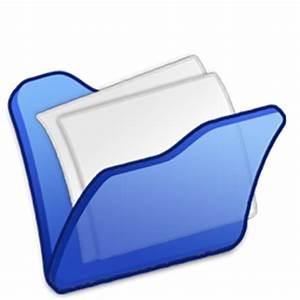 Folder blue mydocuments Icon | Refresh Cl Iconset ...