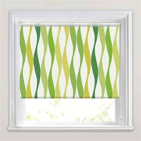 lime green kitchen blinds funky lime olive emerald green wavy striped 7091