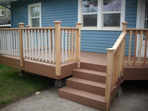 Porch Stair Handrail 40 creative deck railing ideas for inspiration