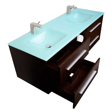 Mounted Vanity by Savona 60 Quot Wall Mounted Bathroom Vanity Set Vm