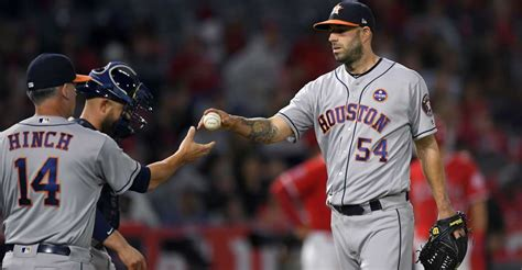 Mike Fiers torched by Angels in Astros' loss