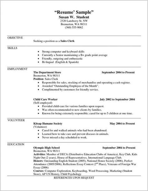 free resume templates docs resume resume