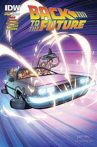 Back To The Future 2 IDW Publishing