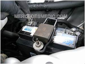 Mercedes Secondary Aux Backup Battery Replacement