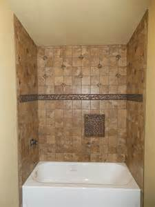 bathroom surround ideas tub surround with single built in shower shelf marazzi montagna belluno tile and bling tile all