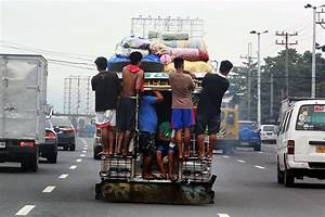 Overloaded jeepneys still common on QC roads | Photos ...