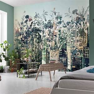 komar urban jungle wall mural 8 979 With markise balkon mit wall deco tapete