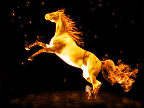 Orianapoetry Fire Horse