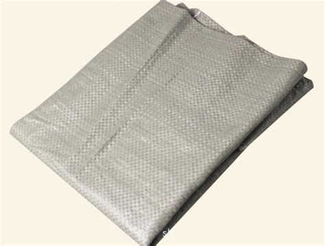 open mouth grey cement bags
