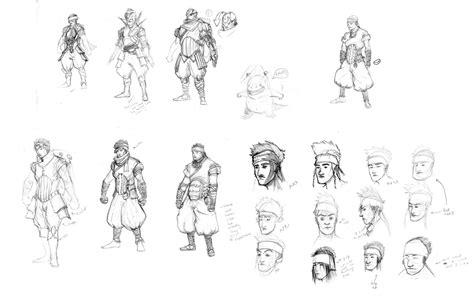 art  ngianhormua    main character design process