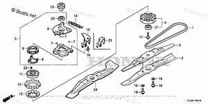 Honda Lawn Mower Parts Hrr216k9 Vyaa Vin  Mzcg