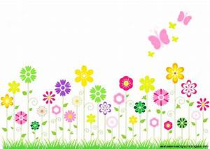 Background clipart spring flower - Pencil and in color ...