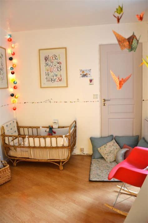 déco chambre bébé vintage lit bébé magique sorti des contes de fées