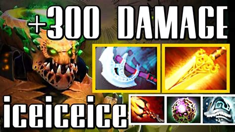 iceiceice underlord pit lord 300 damage dota 2 gameplay youtube