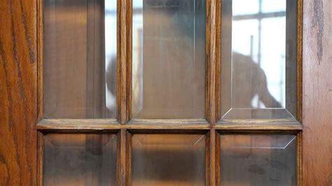 beveled glass panel door olde good