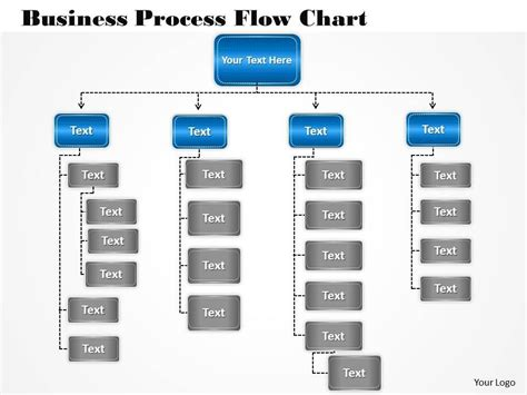 busines  diagram business process flow chart
