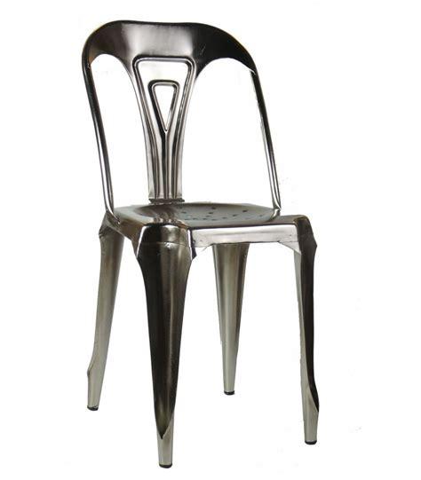 chaises style industriel chaise style industriel en métal vintage fer wadiga com