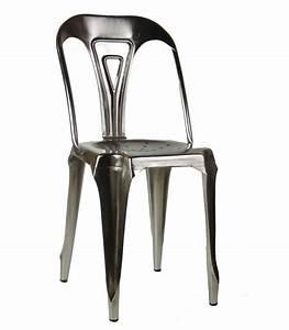 Chaise Style Industriel : chaise style industriel en m tal vintage fer ~ Teatrodelosmanantiales.com Idées de Décoration
