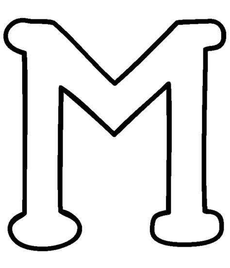block letter m espa 199 o educador thamiris batista moldes alfabeto 29509