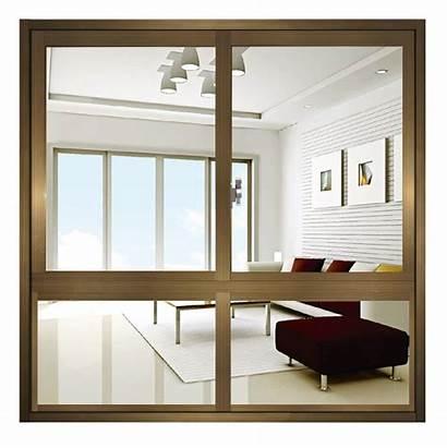 Sliding Window Panel Double Aluminium Bottom Glazing