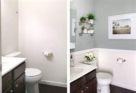 powder room makeover transform  powder room easily