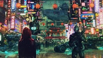Cyberpunk Wallpapers Cityscape Asian Sci Fi Culture