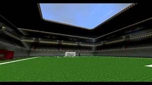 Minecraft Stade De Football FCB HD YouTube