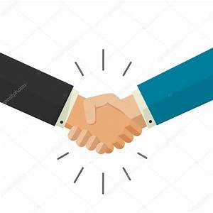Shaking hands business vector illustration isolated on ...