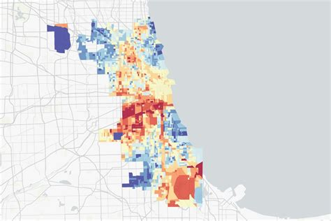 interactive map pollution hits chicagos west south