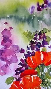 Aquarell Blumen Malen : mohn immer ein erlebnis aquarell malen am meer ~ Frokenaadalensverden.com Haus und Dekorationen
