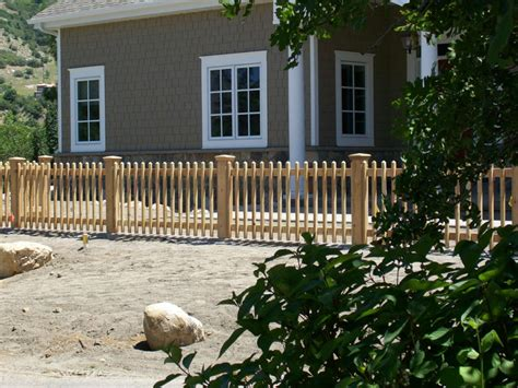 wood picket fence deck supply