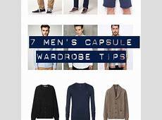 7 Secrets To Making Mens Capsule Wardrobes