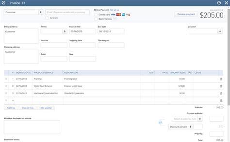quickbooks invoice import invoices into quickbooks invoice template ideas